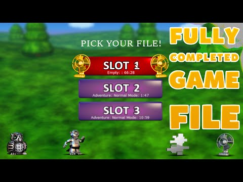 FNaF World FULL SAVE FILE DOWNLOAD