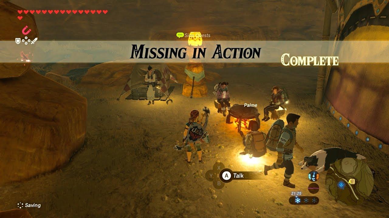 Zelda: BOTW (Missing i...