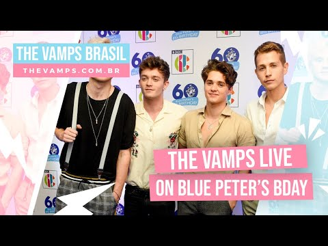 The Vamps live on Blue Peter's 60th anniversary