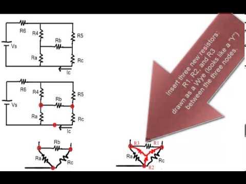 H342120 - Delta-Wye Transformation - Basic Circuit Analysis