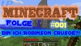 #001 Minecraft [1.7.1] - Eine Insel? Bin ich Robinson Crusoe?! [Lets Play] [Deutsch] [HD+]