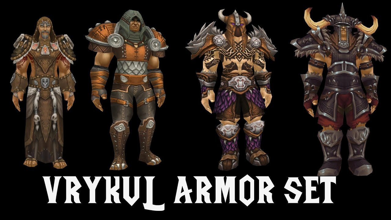 Vrykul Armor Sets - (Cloth Leather Mail Plate) - Legion  sc 1 st  YouTube & Vrykul Armor Sets - (Cloth Leather Mail Plate) - Legion - YouTube