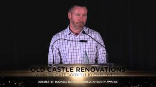 2015 BBB Business Integrity Awards