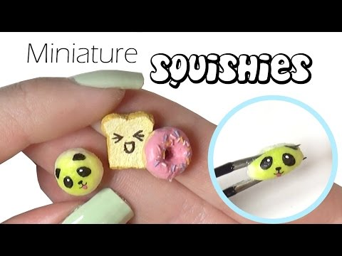 EASY Miniature Squishy Tutorial - Mini Squishies