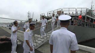 Во Владивосток для участия в военно-морском параде прибыл вьетнамский фрегат.