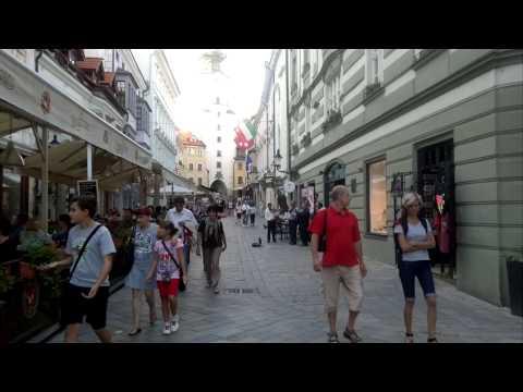 Bratislava, center, Slovakia