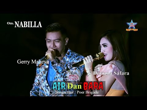 Deviana Safara ft Gerry mahesa - Air dan bara - OM. Nabilla [Official music video]