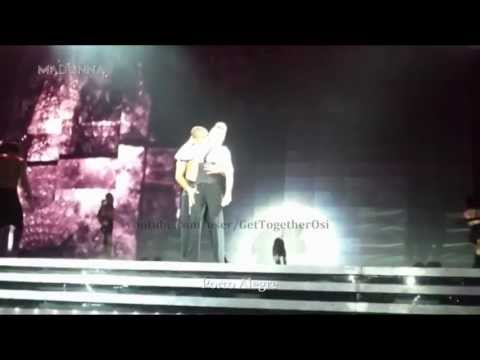 #Madonna - The #MDNA Tour #Funny Moments and Stuff (Part 2)