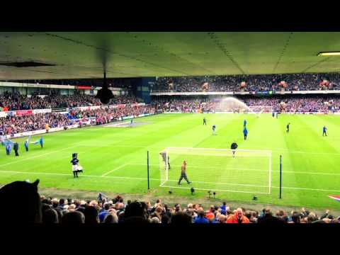 Ipswich Town vs  Norwich City   Sir Alf Ramsey Stand Lower - #ITFC