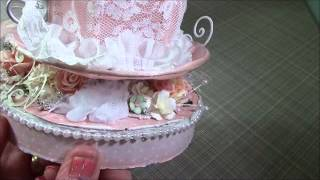 Shabby Chic Altered cake boxes for Rina Thumbnail