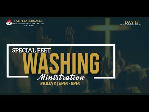 DOMI STREAM: PRAYER & FASTING\SPECIAL FEET WASHING    | 22, JANUARY 2021 | FAITH TABERNACLE OTA
