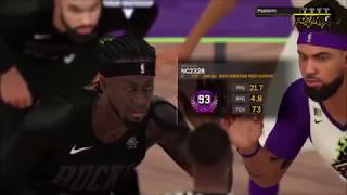 Bucks vs Rim Reapers NBA 2k Comp Games POST BATTLE