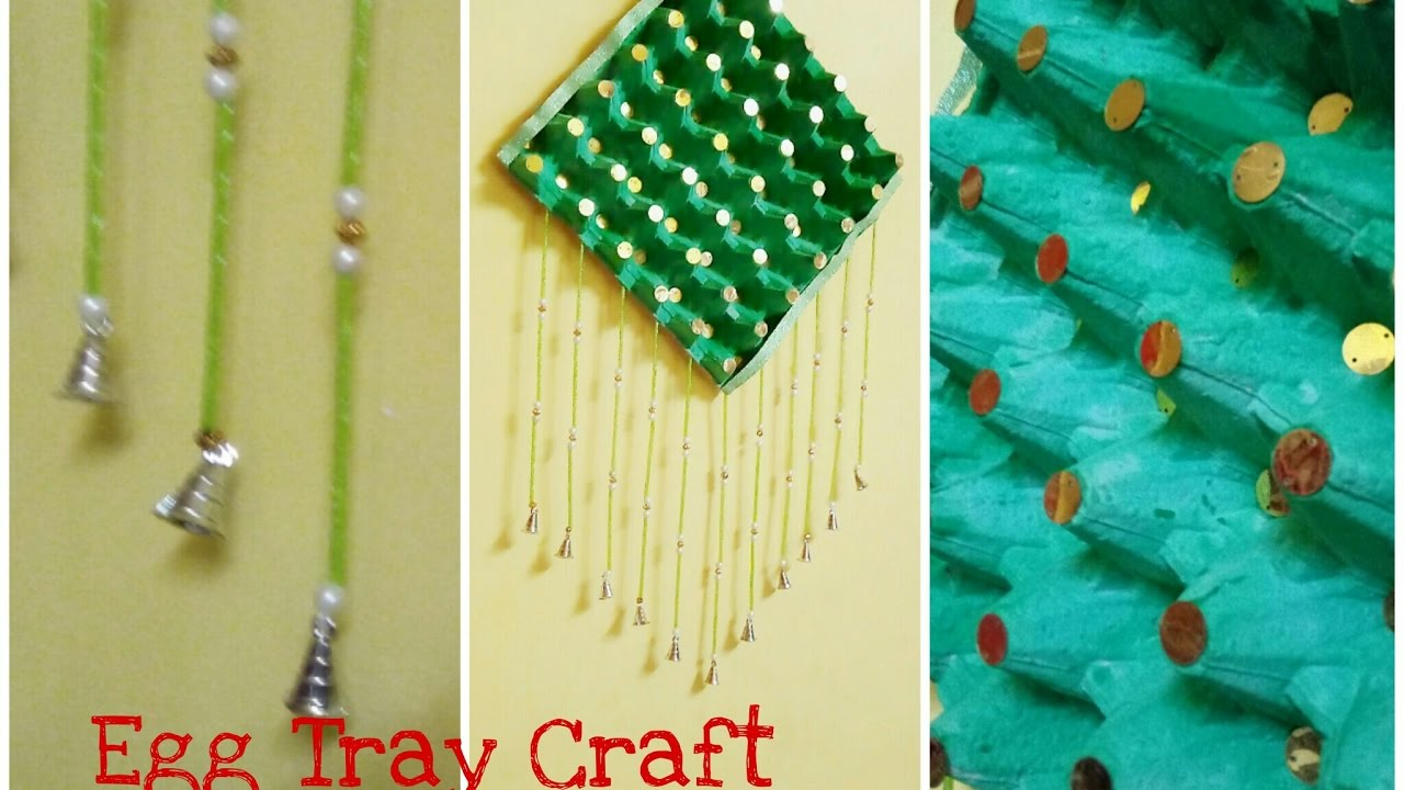 Diy Recycling Egg Tray How To Make Wall Hanging At Home