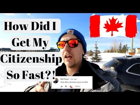 Fastest Way To Get Canadian Citizenship!
