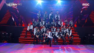 [2020 MBC 가요대제전] NCT - Year Party Intro & Turn Back Time & Ridin' & 영웅, MBC 201231 방송