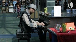 Portland airport musicians create relaxing environment for travelers