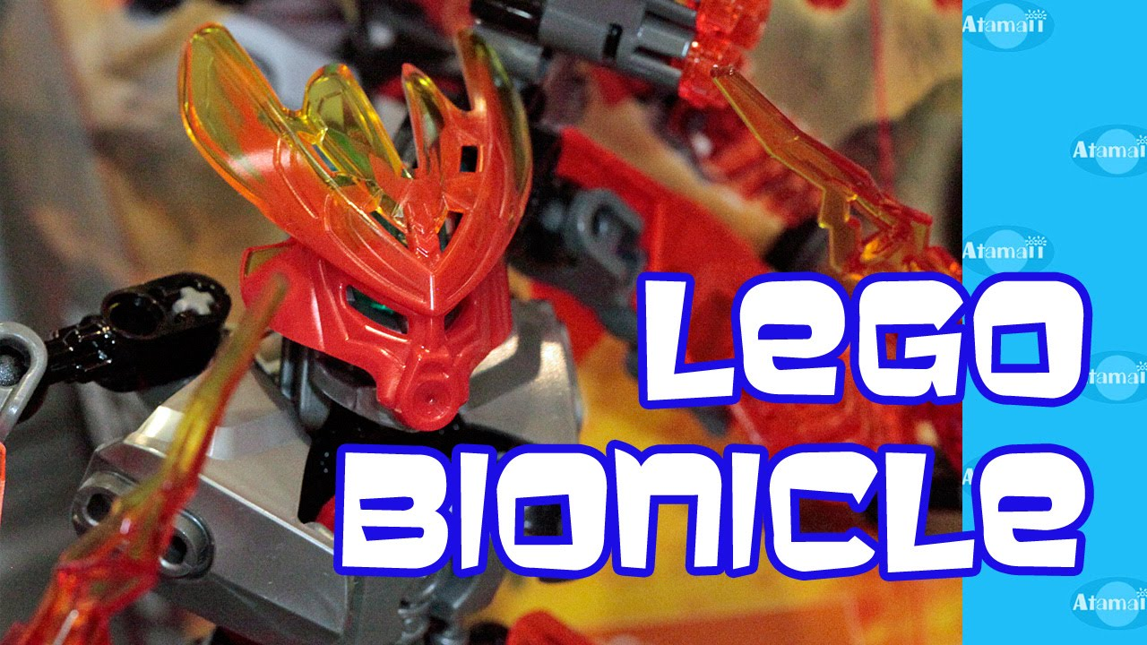 Lego Bionicle Toys New York Toy Fair Preview Youtube