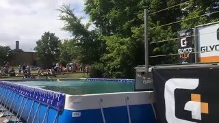 Labrador Long Jump Competition ~ Dog Jumping 7/12/15