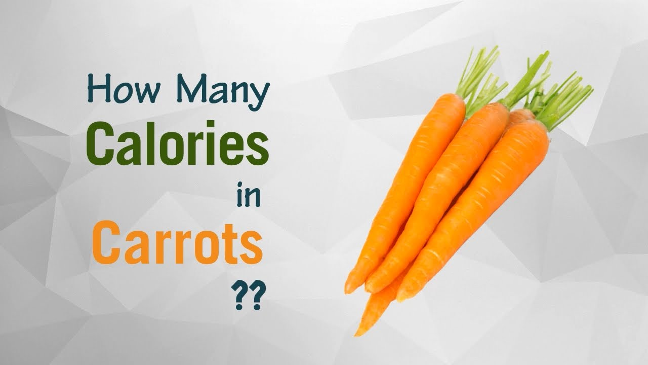 How many calories in carrots 5