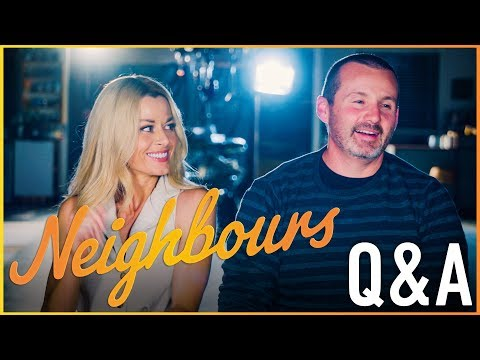 Neighbours Q&A - Madeleine West (Dee Bliss/Andrea Somers) & Ryan Moloney (Toadie Rebecchi)