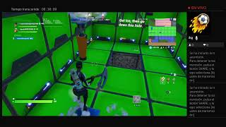 Haciendo parkour fortnite