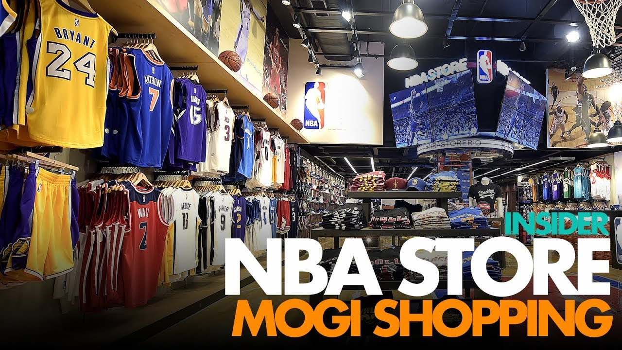 buy popular eddd1 b1f09 Visitamos a NBA Store do Mogi Shopping | Insider #06