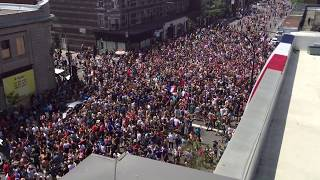 2018 World Cup Final - French fans in Montreal