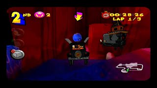 Wacky Races Starring Dastardly And Muttley PS2 Gameplay