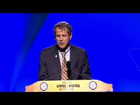 Sen. Brown's Address to The NAACP 107th Annual Convention in Cincinnati