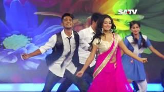DJ sonica Aashona – Borbaad Movie song Satv Eid Dance Program 720p BDMusic420 Com