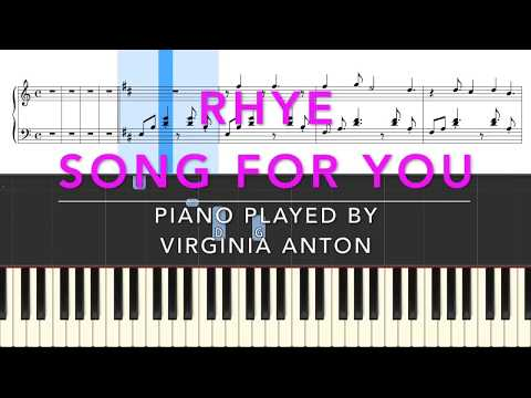 rhye-*-song-for-you-*-piano-tutorial-instrumental-cover