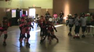 South Central Roller Girls: Black Heart Queens vs. NWA