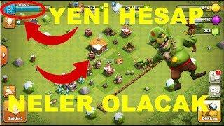 0 DAN YENİ BİR HESAP KÖY BİNASI 12 YE YOLCULUK BAŞLASIN 😀 /clash of clans
