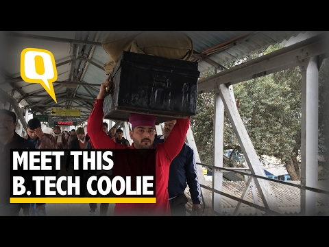 The Quint: Punjab's Unemployment Woes: An Engineer Working as a Coolie