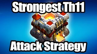 TH11 AWESOME ATTACKS STRATEGY YOU NEED TO KNOW + GIVEAWAY + NDL CLASH OF CLANS