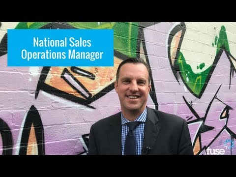 Fuse Job Opportunity: National Sales Operations Manager, North Sydney