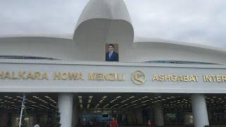 Ashgabat Airport Turkmenistan(Türkmenistan aşkabat havalimanı polimeks., 2017-01-08T19:02:04.000Z)