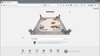 Mozilla Firefox Start Page Game