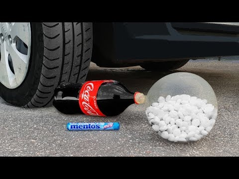 Experiment: Car Vs Coca Cola and Mentos