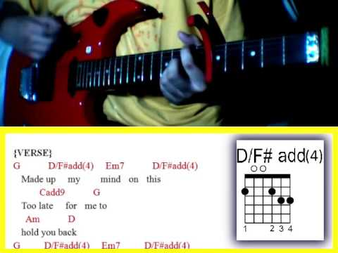 Here Tonight By Hale Guitar Chords Youtube