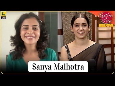 Sanya Malhotra | Pagglait | Spill the Tea With Sneha Menon Desai | Film Companion
