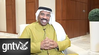 Steve Harvey wants to interview Sharjah Ruler