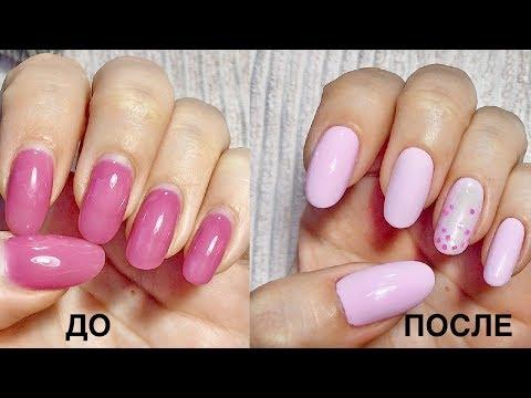 Нежные цвета ногтей
