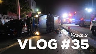 Miami Police VLOG: Truck Roll Over