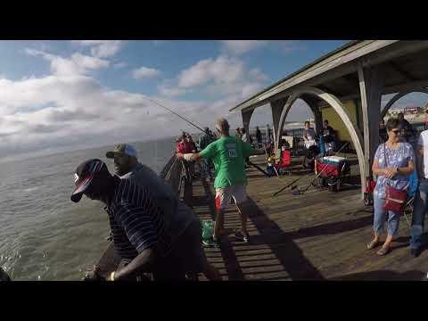 Pier Fishing In Tybee Island