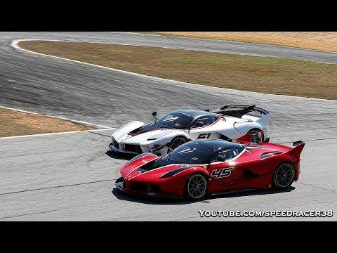 Ferrari FXX K EVO vs FXX K comparison