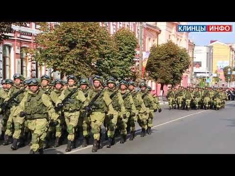 В Клинцах состоялся праздничный парад, посвященный Дню танкиста