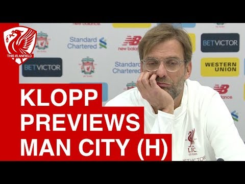 Jurgen Klopp Pre-Match Press Conference | Liverpool vs. Man City