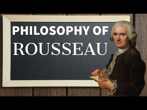 Rousseau political thought - दर्शनशास्त्र - Philosophy optional for UPSC in Hindi