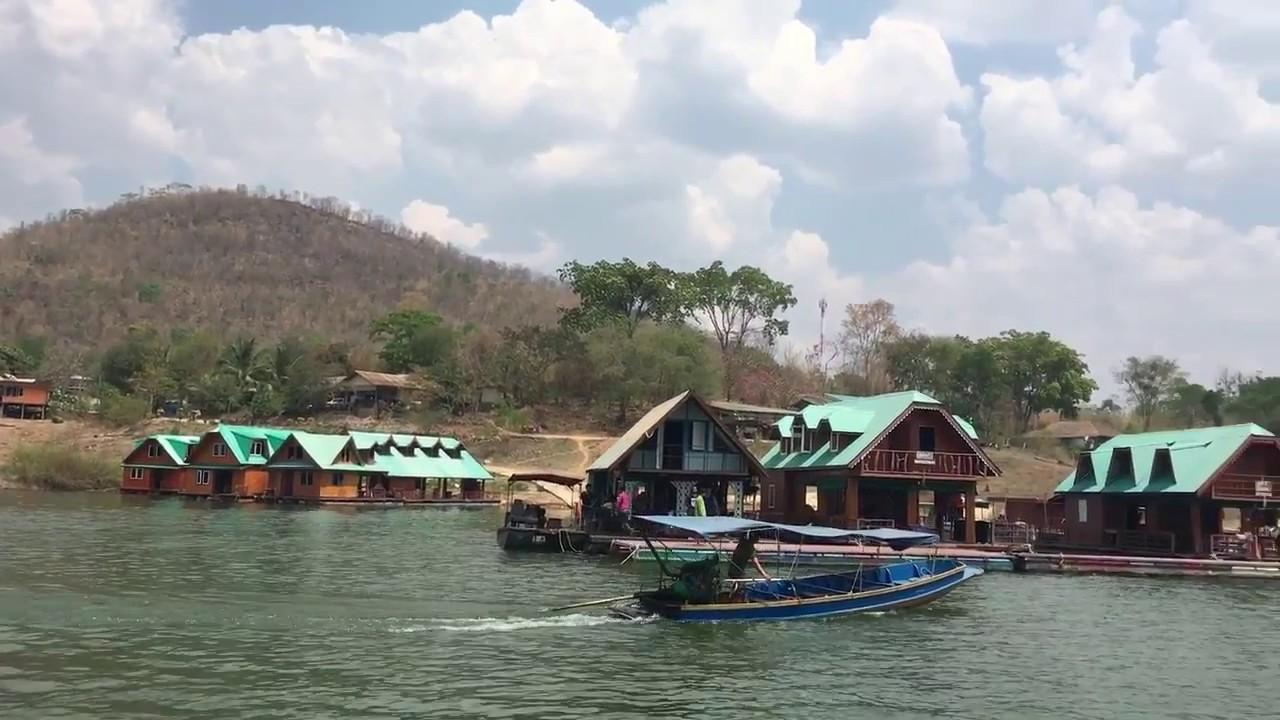 ล่องแพเขื่อนศรีนครินทร์ กาญจนบุรี